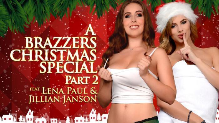 Jillian Janson & Lena Paul - A Brazzers Christmas Special: Part 2 [SD/480p/268 MB]