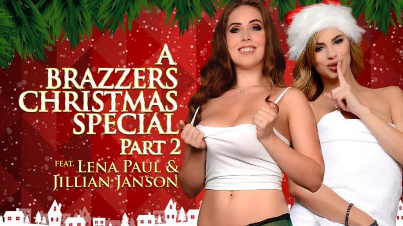 ZZSeries.com / Brazzers.com: Jillian Janson & Lena Paul - A Brazzers Christmas Special: Part 2 [SD] (268 MB)
