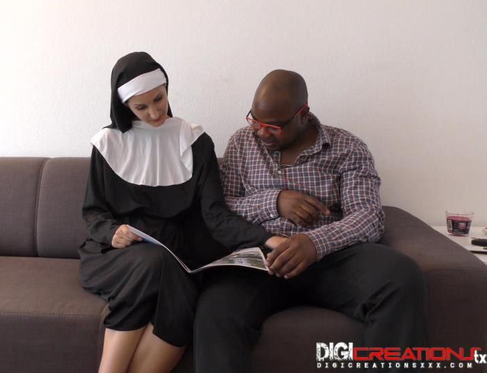 DigiCreationsXXX.com - Coco Kiss - Coco K Nun Creampie [HD 720p]
