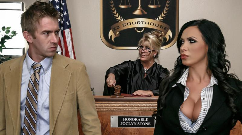 BigTitsAtWork/Brazzers: Nikki Benz - ZZ Courthouse: Part Two  [SD 480p] (634 MiB)