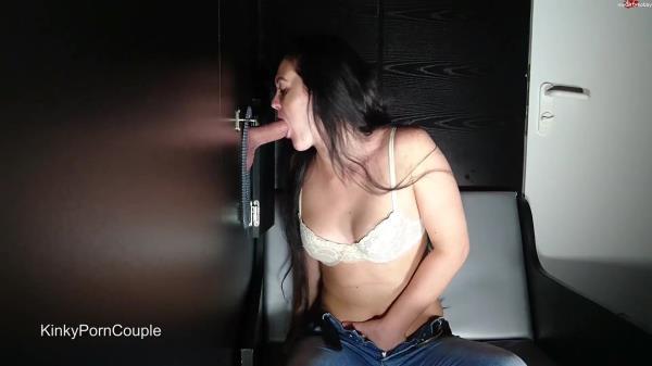 KinkyPornCouple Gloryhole Schluckschlampe [MDH 1080p]