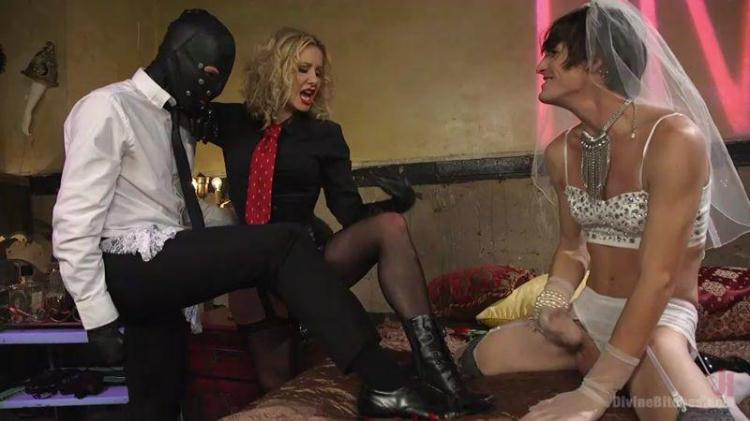 Maitresse Madeline Marlowe, Will Havoc, Tony Orlando - Honeymoon Cuckold At Hotel Divine / 25.11.2016 [DivineBitches, Kink / SD]