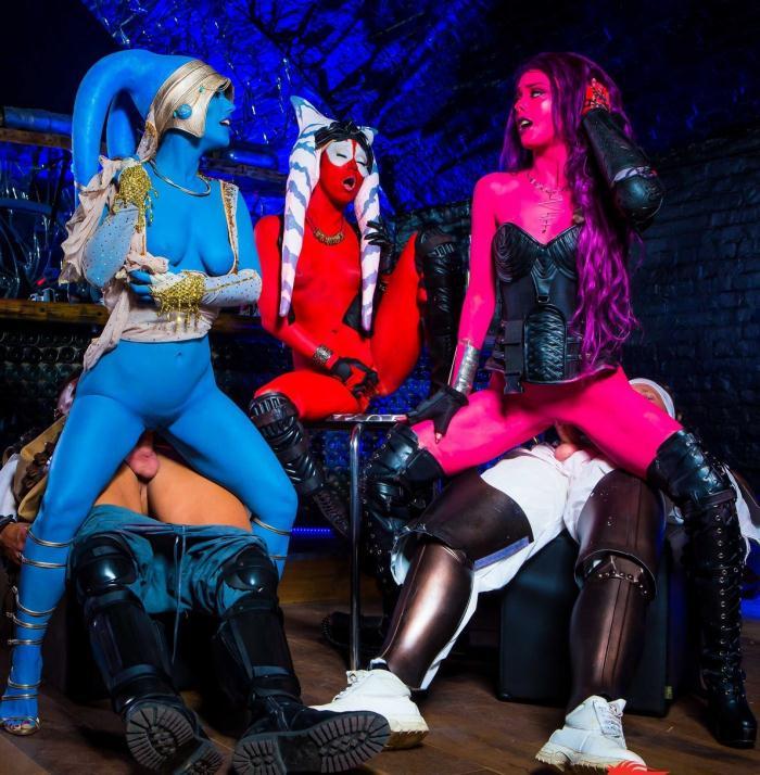 DigitalPlayGround: Alessa Savage, Aria Alexander, Eva Lovia - Star Wars Underworld: A XXX Parody Scene 6  [HD 720p]
