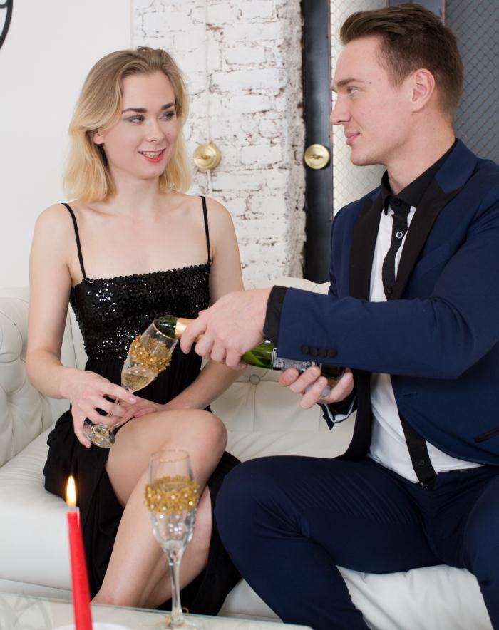 AnalTeenAngels/21Sextury: Via Lasciva - Pop My Champagne  [FullHD 1080p]  (Anal)