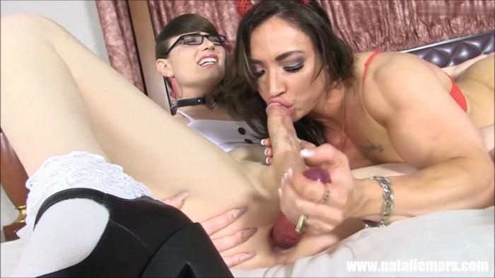Natalie Mars, Brandi Mae - Get Behind Me, Satan (NatalieMars, clips4sale) FullHD 1080p