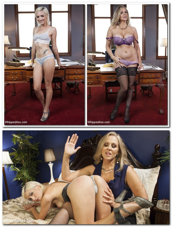 WhippedAss/Kink: Julia Ann, Eliza Jane - MILF Angel Investor: Young entrepreneur submits to kinky lesbian sex!  [SD 540p]  (Femdom)