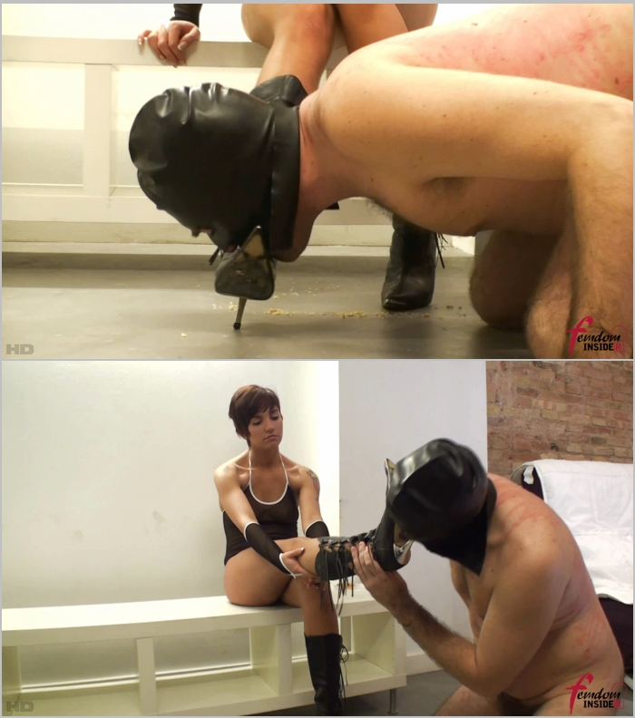 FemdomInsider: Miss Dolce - Following The Trail To Her Boots  [FullHD 1080]  (Femdom)