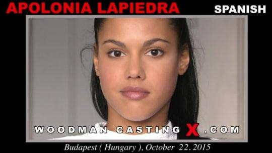 WoodmanCastingX: Apolonia Lapiedra - Casting X 171 (SD/480p/941 MB) 25.12.2016