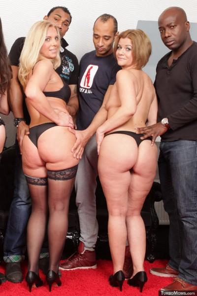 TurboMoms.com: Ida - Czech milfs group sex orgy feat. blonde mom Ida (2016/SD)