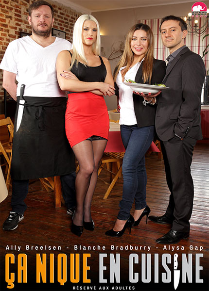 Ally Breelsen, Blanche Bradburry, Alysa Gap, Rico Simmons, Yanick Shaft - Ca Nique En Cuisine [SD 576p]