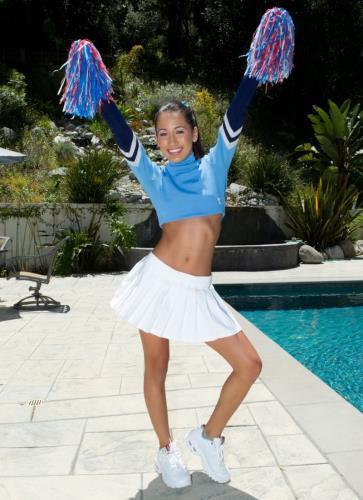 Amia Miley Teen Cheerleader - Amia Miley (SiteRip/JulesJordan/HD720p)