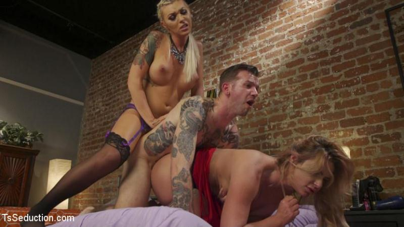 TSS3duct10n.com: Aubrey Kate - Phoenix Marie's TS Threesome: What does she have that I don't have? [HD] (2.21 GB)