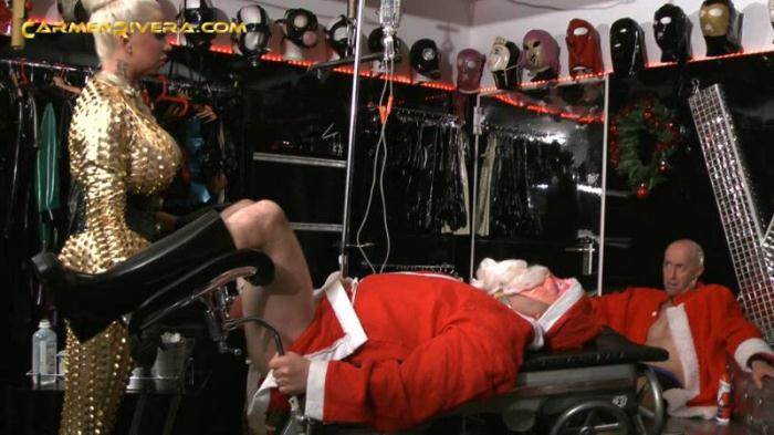 Advent, Advent - An Asshole Burns! Fuck You, Santa! - Part 2 (Carmen Rivera) SD 480p