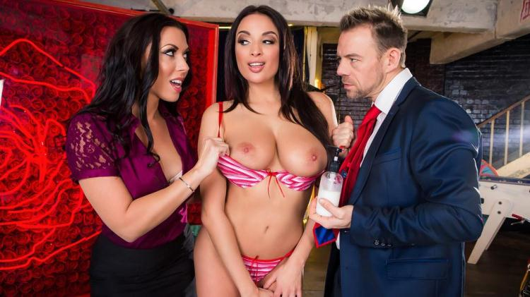 Anissa Kate and Rachel Starr - You Can Cream On Me / 27.12.2016 [Brazzers / SD]