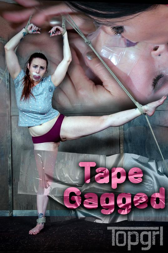 Bella Rossi, London River - Tape Gagged [TopGrl | 720p]