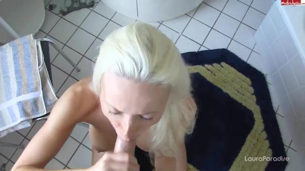 Laura - Sperma am Morgen (HD, 720p)