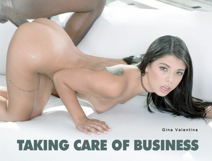 Gina Valentina - Taking Care Of Business  [HD 720p]