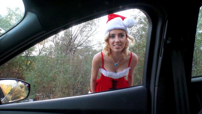 Haley Reed - Haley the Horny Christmas Hitchhiker [StrandedTeens] 480p