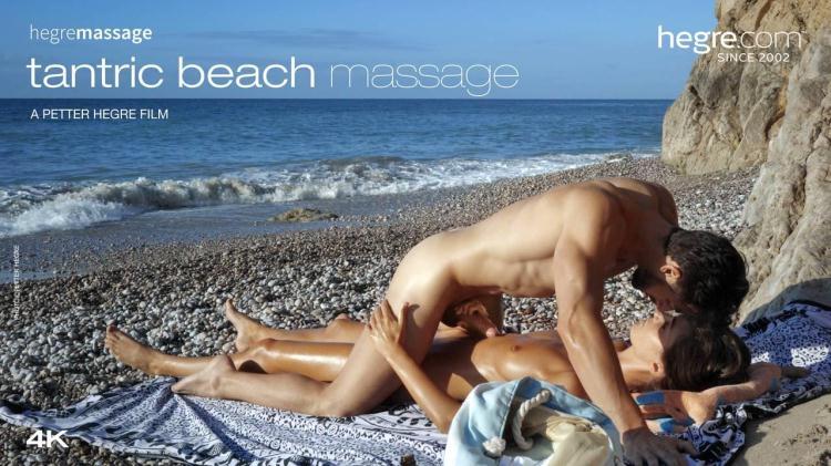 Tantric Beach Massage by Charlotta / 27.09.2016 [Hegre-Art / FullHD]