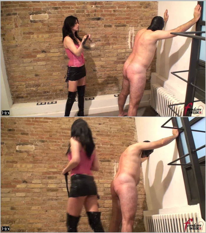 FemdomInsider: Miss Lesly - Marked By Brutal Caning  [HD 720] (130 MB)
