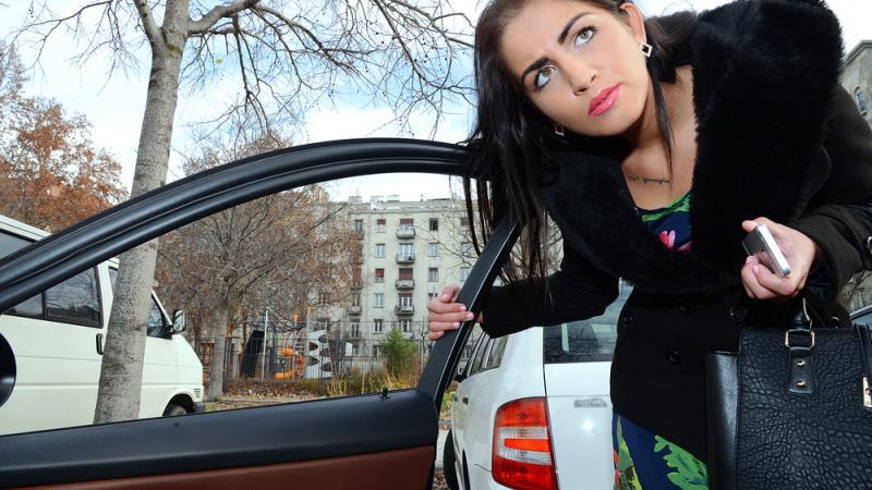 StrandedTeens/Mofos - Loren Minardi - Hungarian Babe's Backseat Fuck  [SD  480p]