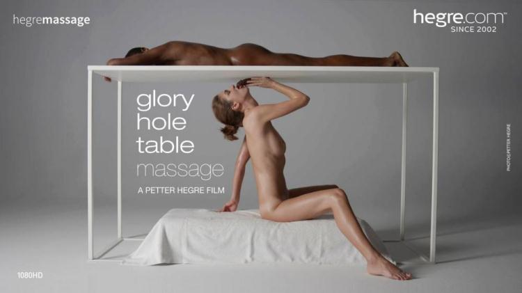 Glory Hole Table Massage  by Charlotta / 06.12.2016 [Hegre-Art / FullHD]