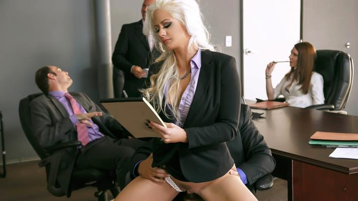 BigTitsAtWork/Brazzers: Holly Heart - The Meeting  [SD 480p]  (Big tit)
