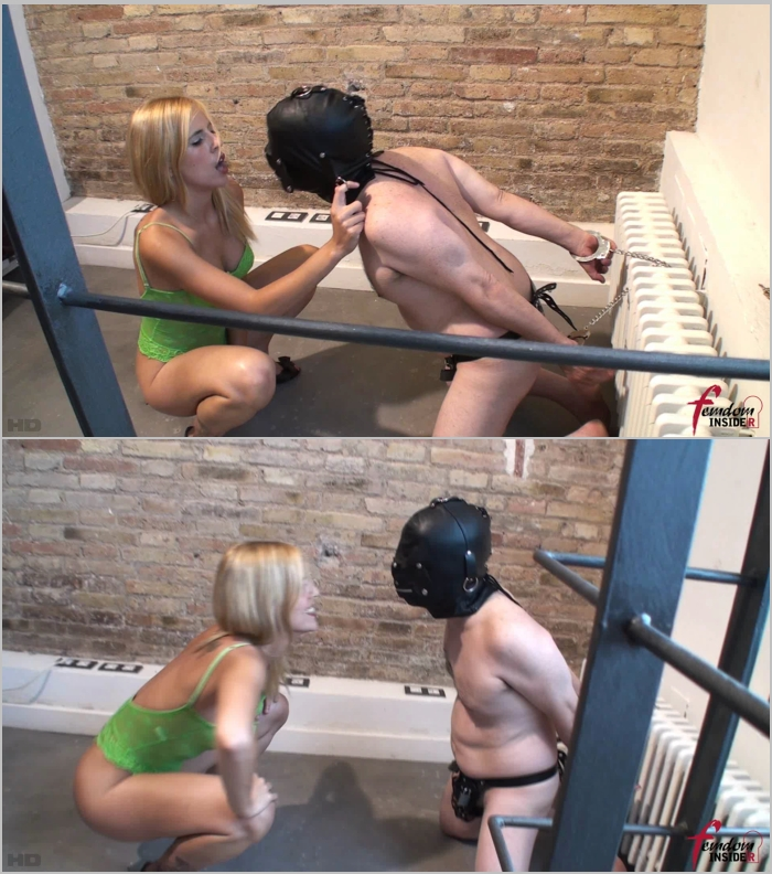 FemdomInsider: Miss Lesly - Chastity Punishment From A Goddess In Green  [FullHD 1080] (221 MB)