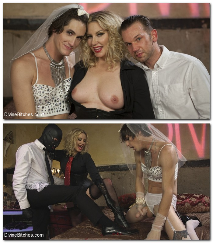 DivineBitches/Kink: Maitresse Madeline Marlowe - Honeymoon Cuckold At Hotel Divine  [SD 540p]  (BDSM)