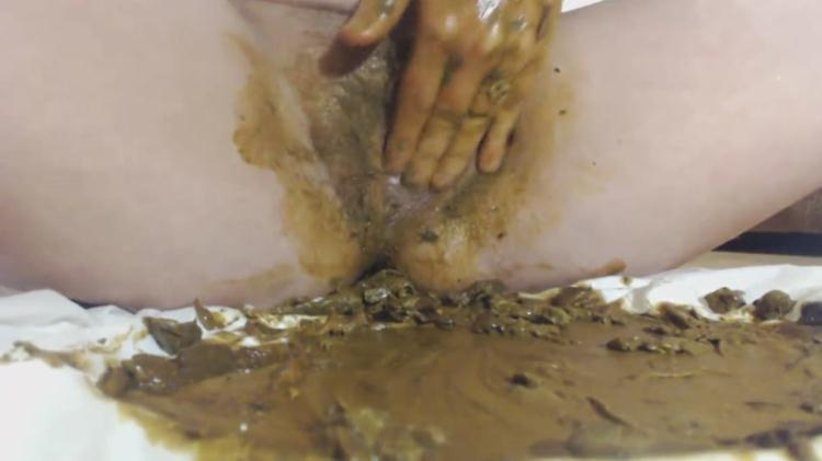 I masturbate clitoris with shit - Extreme Anal Fisting! / 29 Dec 2016 [Scat Fboom / FullHD]