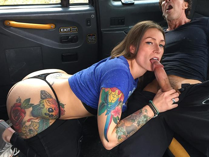 Ava Austen - Horny Driver Enjoys a Sticky Facial [SD/480p/420 MB]