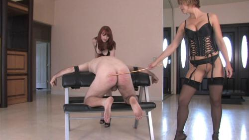 Goddesses Brianna and Kendra James - Grateful for her cane [HD, 720p] [Clips4sale.com]