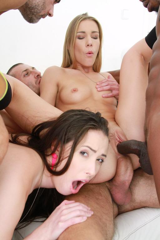 (Lega1Porno.com) Casey Calvert, Alexis Crystal - American slut Casey Calvert & euro-slut Alexis Crystal anal & DP with 4 cocks SZ1552 (HD/720p/1.48 GB/2017)