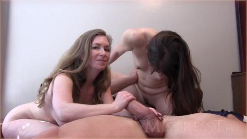 MistressT.net [Lesbian Cuckold Meets The Bull] HD, 720p