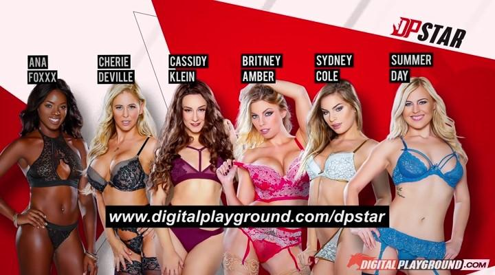 DigitalPlayground.com: Ana Foxxx, Britney Amber, Cassidy Klein, Cherie Deville, Summer Day & Sydney Cole - DP Star 3 Audition: Episode 4 [SD] (340 MB)