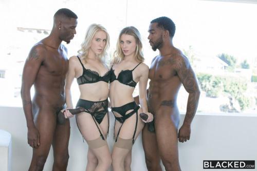 Blacked.com [Cadence Lux, Anya Olsen - How I Got a Million Followers] SD, 480p