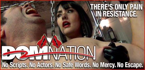 Clips4sale.com/domnation [Brutally beating the skin off a screaming slave] HD, 720p