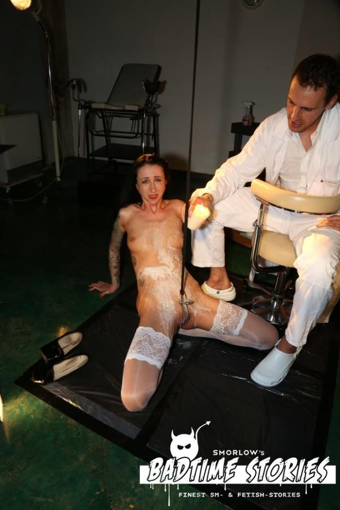 PorndoePremium.com - Stella Star - Piss play and BDSM action with German slave Stella Star and doctors PT 2 [FullHD 1080p]