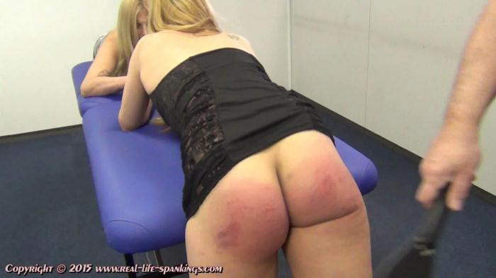 Ivey and Mandy soundly punished for provocative outfits (Real-Life-Spankings) FullHD 1080p