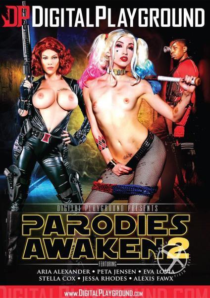 Digital Playground: Alexis Fawx, Jessa Rhodes, Eva Lovia, Aria Alexander, Peta Jensen, Stella Cox - Parodies Awaken 2 (2017/SD)