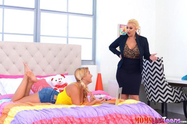 Kimmy Fabel, Nina Kayy - Pussy Hunger - MomsLickTeens.com / RealityKings.com (SD, 432p)