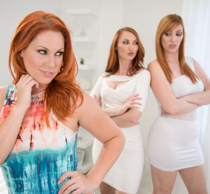 Mommysgirl/GirlsWay: Kendra James, Lauren Phillips, Edyn Blair - My Daughters Approval: Part One  [HD 720p]  (Lesbians)