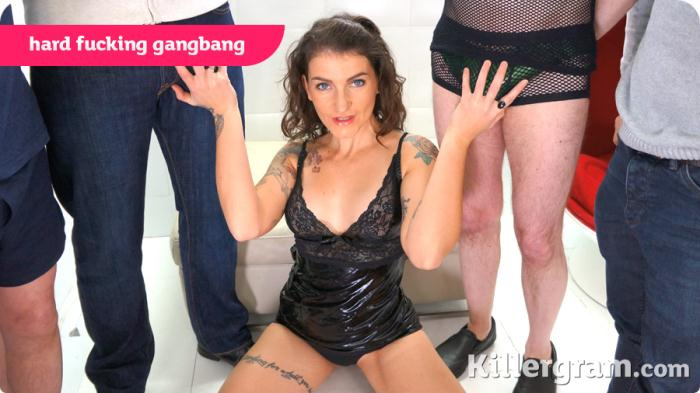 UKrealitySwingers /Killergram: Adreena Winters - Hard Fucking Gangbang  [HD 720p]  (Group)
