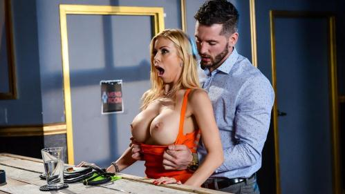 MommyGotBoobs.com / Brazzers.com [Alexis Fawx - The Big Stiff] SD, 480p