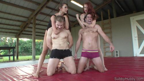 Subbyhubby.com [Tiny Dicklette Wrestling Mat] HD, 720p