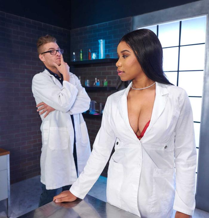 Jenna J Foxx - Large Hard-On Collider [HD 720p] - BigTitsAtWork/Brazzers
