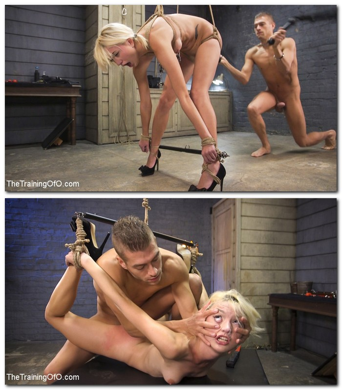 TheTrainingOfO/Kink - Eliza Jane [Training of a Bondage Slave: Eliza Jane Day Two] (SD 540p)