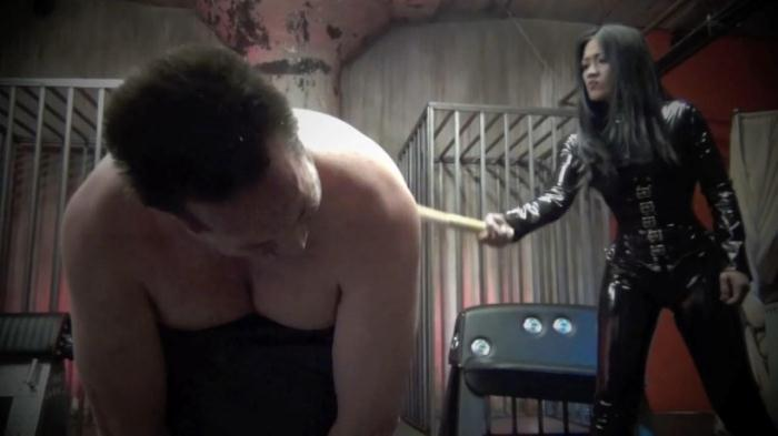 Goddess Miki - A vietnamese p.o.w. caning (Clips4sale) HD 720p