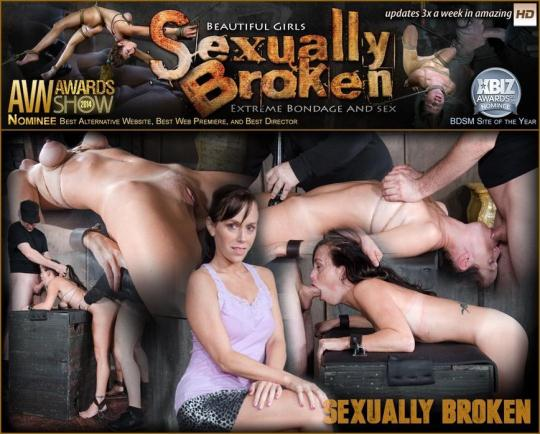 SexuallyBroken: Alana Cruise, Matt Williams, Maestro - Hot MILF has her tits brutally bound, her throat fucked upside down, and made to cum from huge cock! (540p/SD/141 MB) 2017