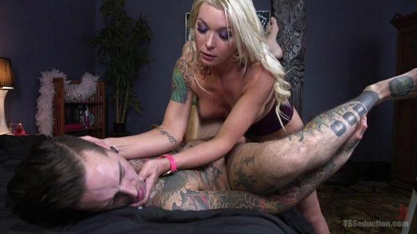 Aubrey Kate - Hot, Horny, and Hungry for Hole - TSseduction.com / kink.com (HD, 720p)